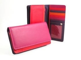 RFID Multi-colour Organiser Purse