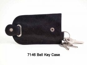 Real Leather Bell Key case