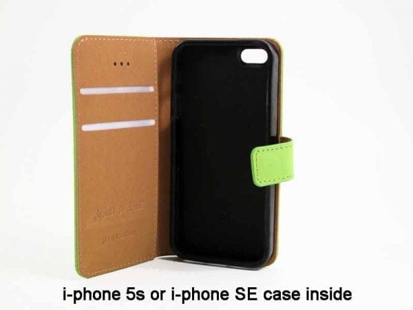 Real Leather Case for i-phone 5s or SE