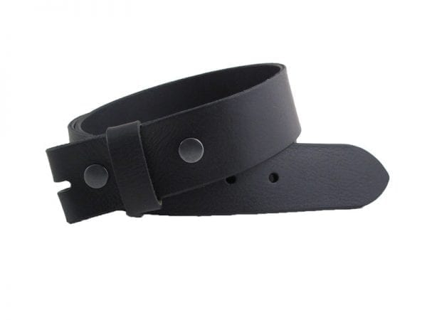 """Men's or Women's 1½"""" Real Leather Strap, Handmade in UK"""