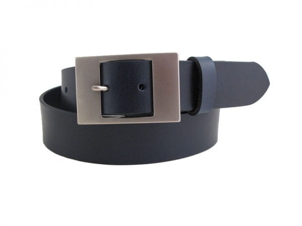 "Men's or Women's 1½"" Real Leather Belt, Handmade in Britain"