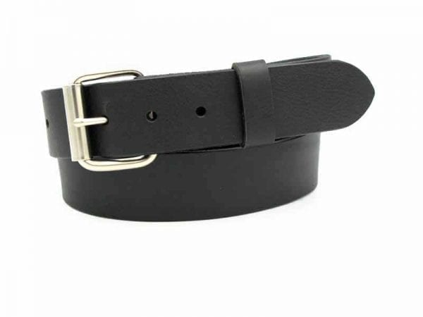 455 Solid Leather Belt