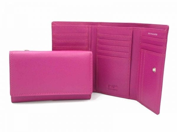Cowhide RFID Purse/Wallet