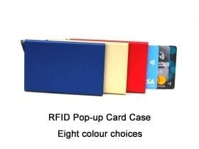 RFID Pop-up Credit Card Case