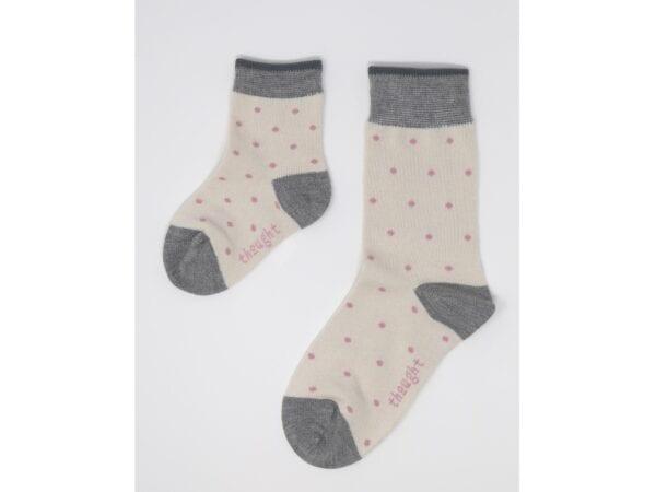 spots bamboo socks