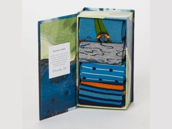 Sport Aquatico sock gift box