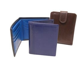Leather Wallets and Card Cases