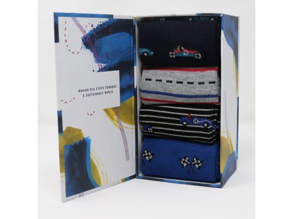 Racing Cars Socks in a Box